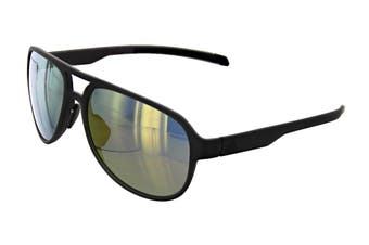 Adidas AD3375 Sunglasses (Matte Coal, Size 58-16-135) - Gold Mirror