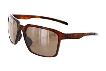 Adidas AD4475 Sunglasses (Havana, Size 60-17-135) - Lst Contrast Silver