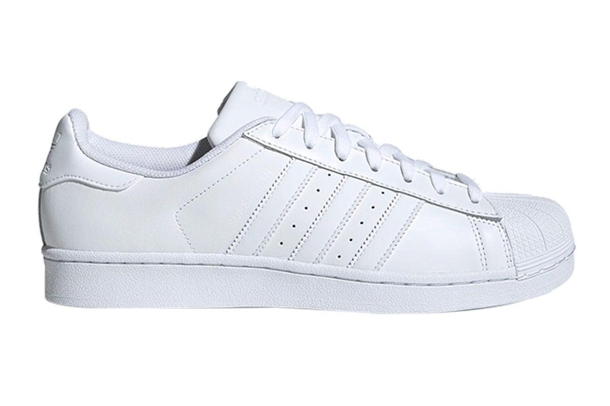 Superstar Foundation Shoe (White/White