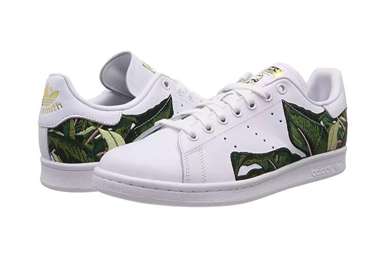 Adidas Originals x THE FARM Company Women's Stan Smith Shoes (White/Gold, Size 8.5)