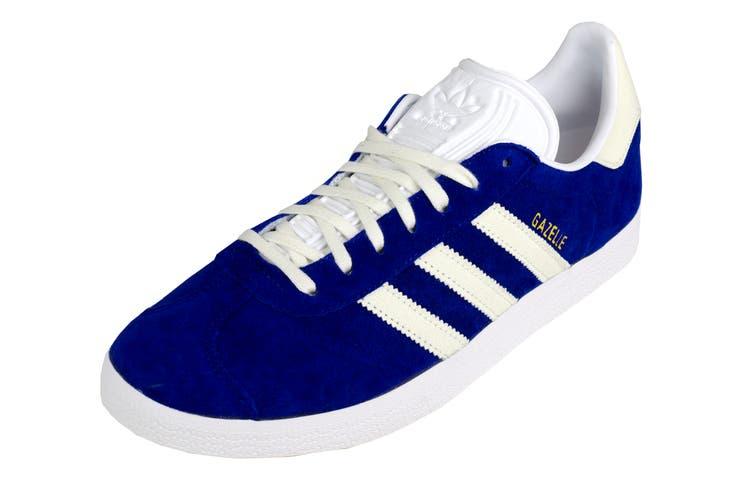 Adidas Originals Men's Gazelle Shoes (Mystery Ink/White, Size 11)