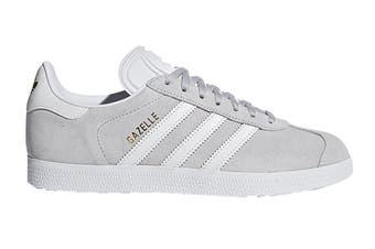 Adidas Originals Women's Gazelle Shoe (Grey/White, Size 8.5 UK)