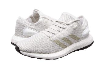 Adidas Men's PureBOOST Running Shoe (White/Grey, Size 8.5 UK)