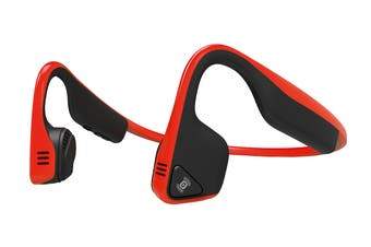 Aftershokz TREKZ Titanium - Wireless with Dual Mic (Red)