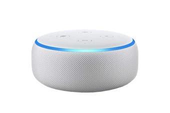 Amazon Echo Dot (3rd Generation, Sandstone Fabric)