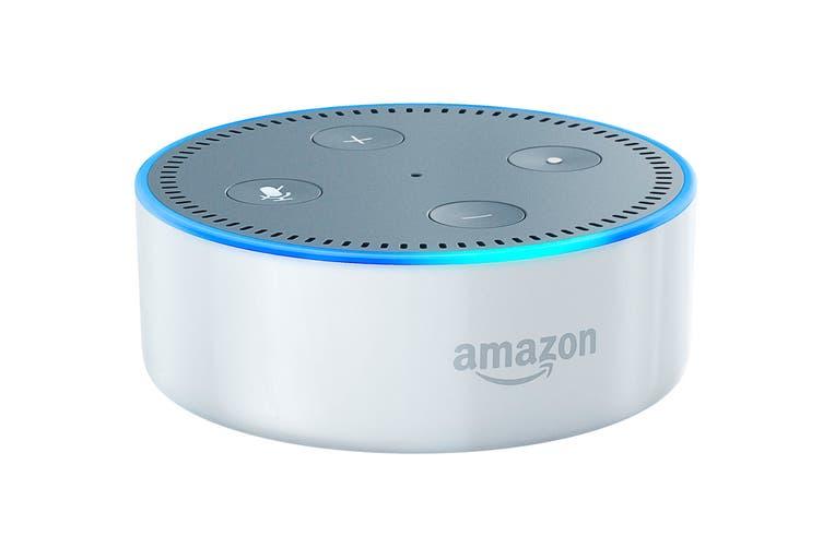 Amazon Echo Dot (2nd Generation, White)