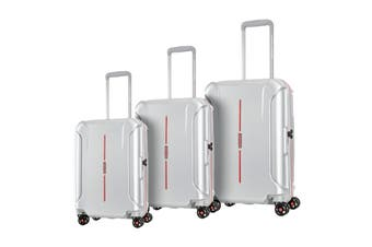 American Tourister Technum 3 Piece TSA Luggage Set (Aluminium)