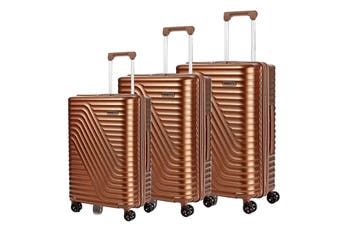 American Tourister High Rock 3 Piece TSA Luggage Set (Bronze)