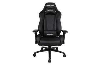 Anda Seat AD7-23 Large Gaming Chair with 4D Armrest, 60mm Casters, Premium Black Aluminium Feet - Black