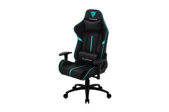 ThunderX3 BC3 Breathable Pinhole Surface Gaming Chair - Black/Cyan