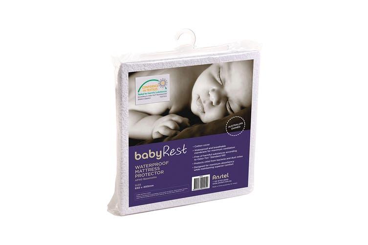Babyrest Waterproof Mattress Protector - Bassinet (AP40)