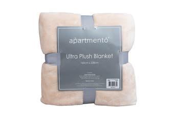 Apartmento Ultra Soft Blanket (Single/Blush)