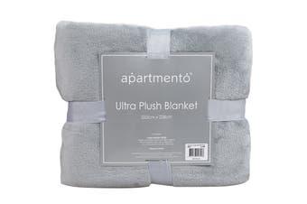Apartmento Ultra Soft Blanket (Single/Grey)