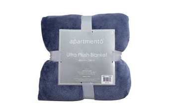 Apartmento Ultra Soft Blanket (Single/Indigo)