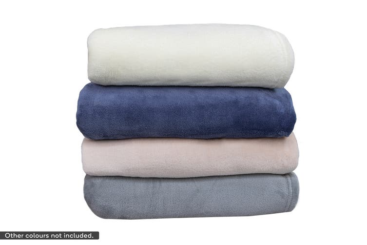 Apartmento Ultra Soft Blanket (Single/Ivory)