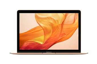 "Apple 13.3"" MacBook Air 2019 MVFN2 (1.6GHz i5, 8GB RAM, 256GB SSD, Gold) - AU/NZ Model"