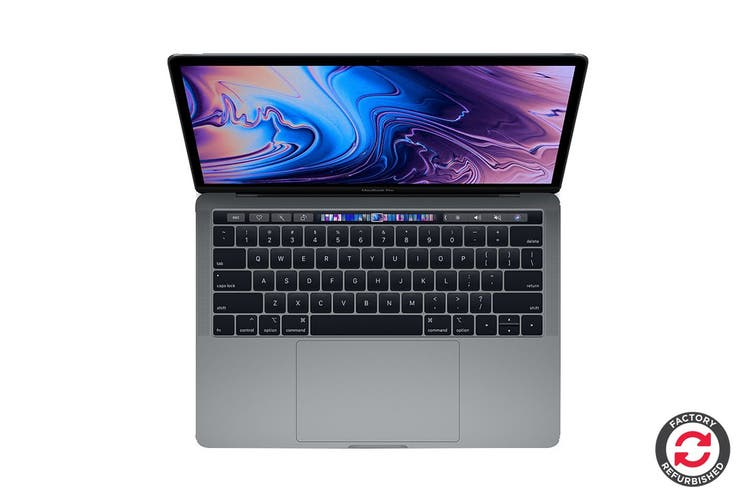 "Apple 13"" MacBook Pro 2019 MUHN2 (1.4GHz i5, 128GB, Space Grey) - Apple Certified Refurbished"