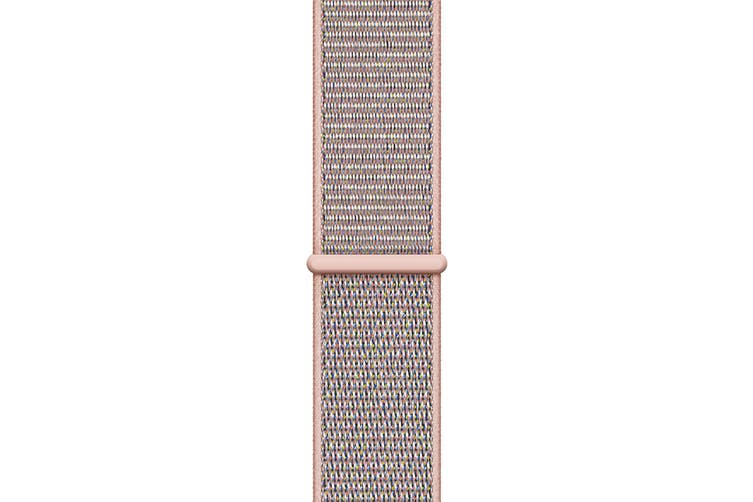 Apple Watch Series 4 Refurbished (Gold, 44mm, Pink Sand Sport Loop, GPS Only) - A Grade