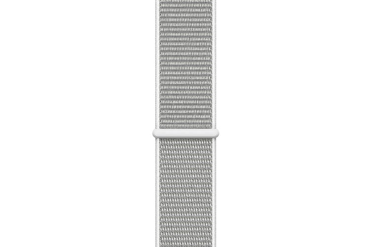 Apple Watch Series 4 Refurbished (Silver, 44mm, Seashell Sport Loop, GPS Only) - A Grade