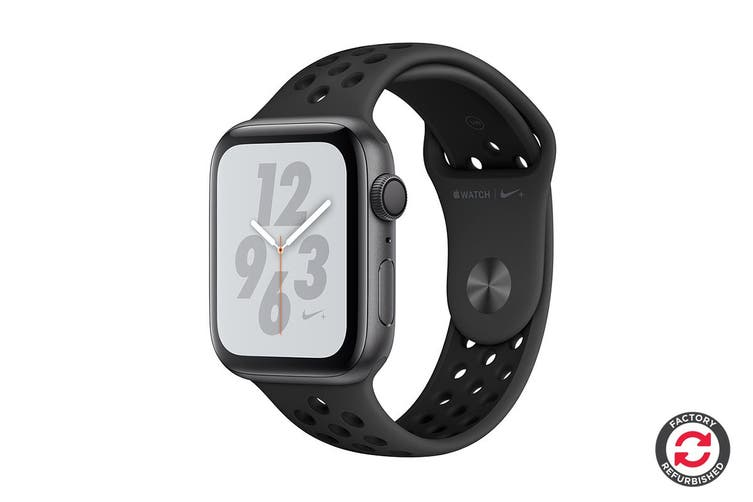 habilidad cráter amplio  Dick Smith NZ | Apple Watch Nike+ Series 4 Refurbished (Space Gray, 44mm,  Anthracite/Black Nike Sport Band, GPS Only) - A Grade | Smart Watches