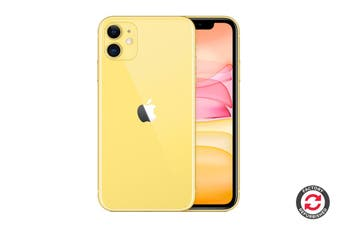 Refurbished Apple iPhone 11 (64GB, Yellow)