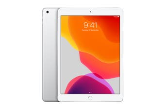 Apple iPad 2019 (32GB, Cellular, Silver)