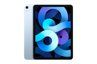 Apple iPad Air 4 (256GB, Wi-Fi, Sky Blue) - AU/NZ Model
