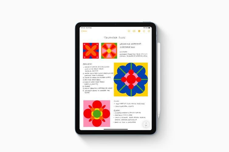 Apple iPad Air 4 (64GB, Cellular, Sky Blue) - AU/NZ Model