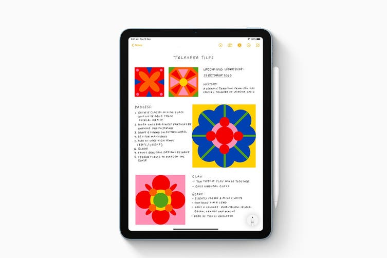 Apple iPad Air 4 (256GB, Wi-Fi, Green)