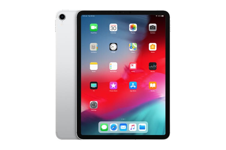 "Apple iPad Pro 11"" 2018 Version (512GB, Cellular, Silver)"