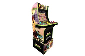 Arcade1Up Teenage Mutant Ninja Turtles Arcade Machine with Riser