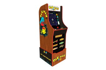 Arcade1Up Pac-Man 40th Edition Arcade Machine with Riser and Light Up Marquee