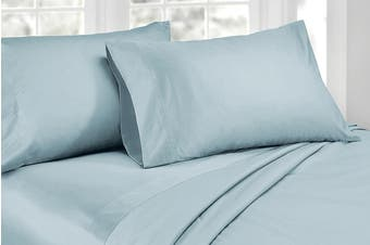 Ardor 1000TC Luxury Sheet Set (King, Blue)