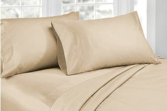 Ardor 1000TC Luxury Sheet Set (King, Linen)