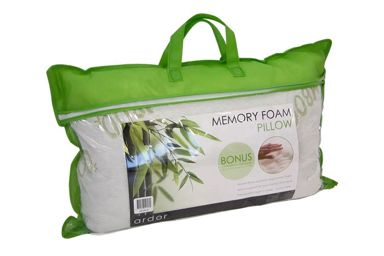 Ardor Memory Foam Bamboo Cover Pillow