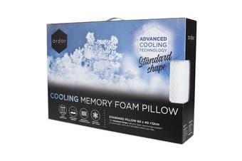 Ardor Cooling Memory Foam Pillow - Standard