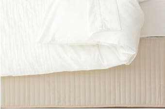 Ardor Quilted Valance Stone
