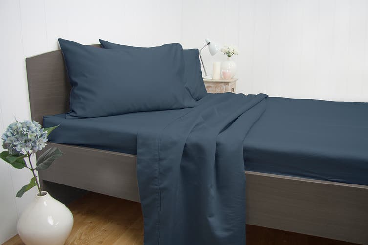 Ardor Luxury 1900TC Sheet Set (King/Blue)