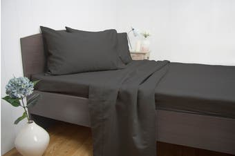 Ardor Luxury 1900TC Sheet Set (King/Charcoal)