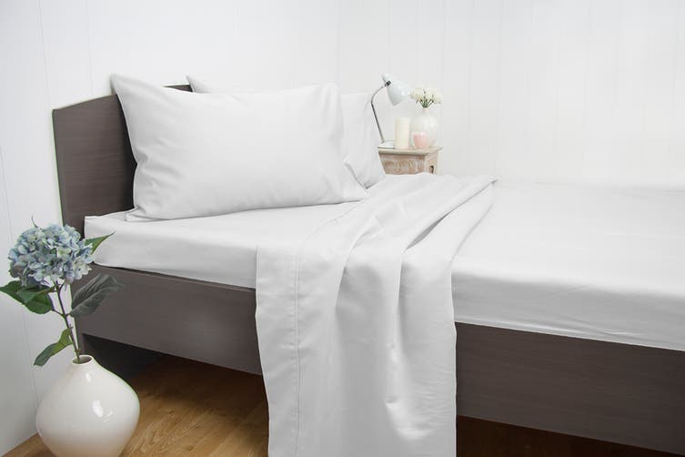 Ardor Luxury 1900TC Sheet Set (Queen/White)