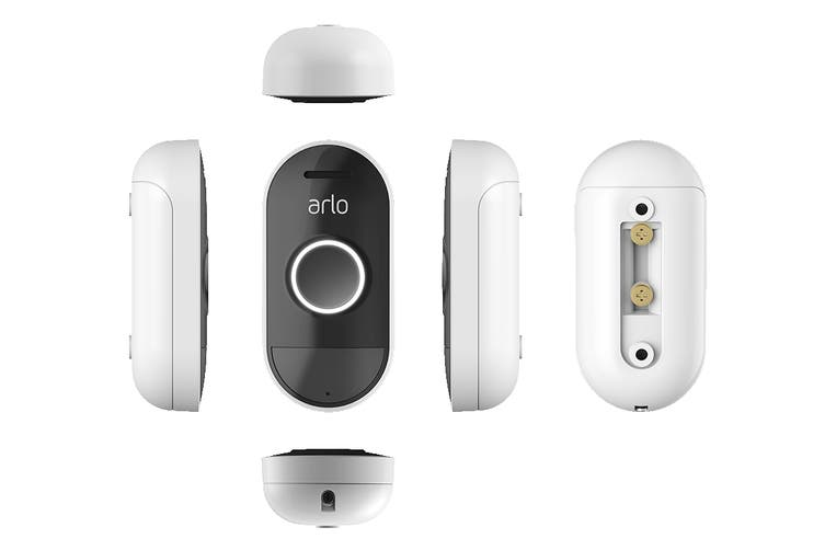 Arlo Smart Wire-Free Audio Doorbell with Two-Way Talking & Remote Monitoring (AAD1001-100AUS)