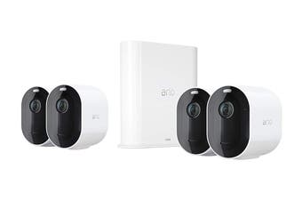 Arlo Pro 3 Wire-Free 4 Camera Security System (VMS4440P-100AUS)