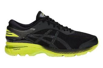 ASICS Men's Gel-Kayano 25 2E Running Shoe (Neon Lime/Black)