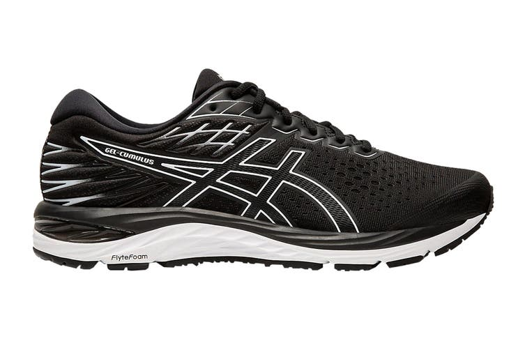ASICS Men's GEL-CUMULUS 21 (Black/White, Size 9.5 US)