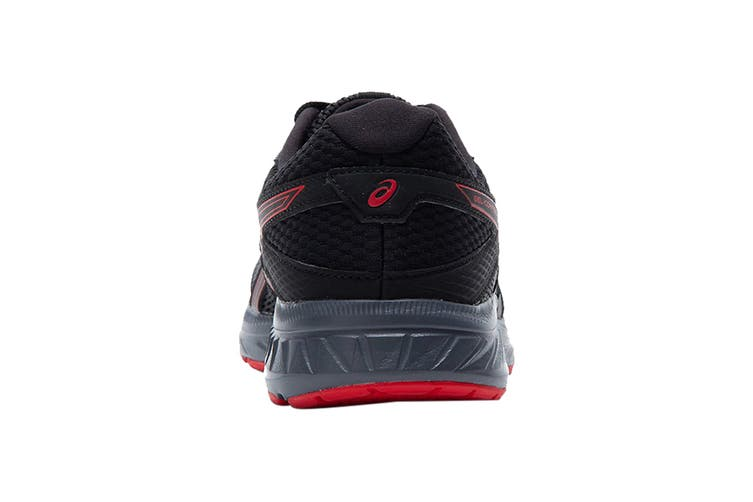 Asics Men's Gel-Contend 6 Running Shoe (Black/Classic Red, Size 12 US)