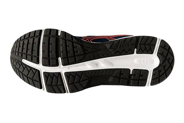 Asics Men's Gel-Contend 6 Running Shoe (Mako Blue/Sunrise Red, Size 9.5 US)