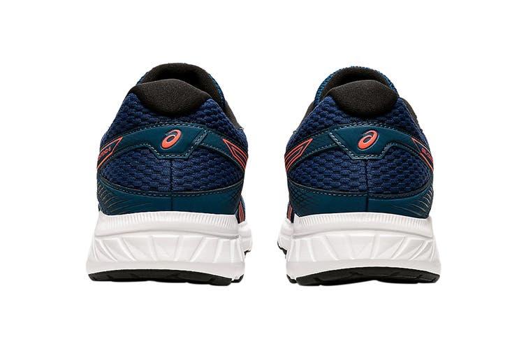 Asics Men's Gel-Contend 6 Running Shoe (Mako Blue/Sunrise Red, Size 9 US)