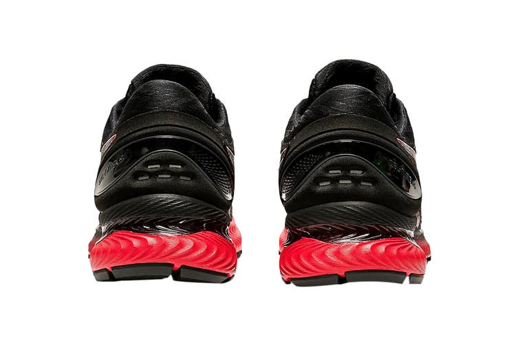 Asics Men's Gel-Nimbus 22 Running Shoe (Black/Classic Red, Size 10.5 US)