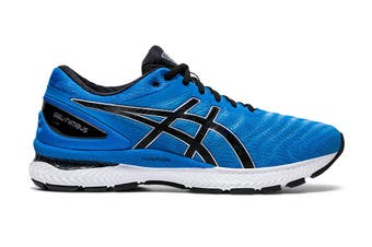 Asics Men's Gel-Nimbus 22 Running Shoe (Directoire Blue/Black)