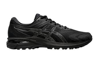 ASICS Men's GT-2000 8 (Black/Black, Size 9.5 US)